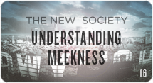 The New Society: Understanding Meekness