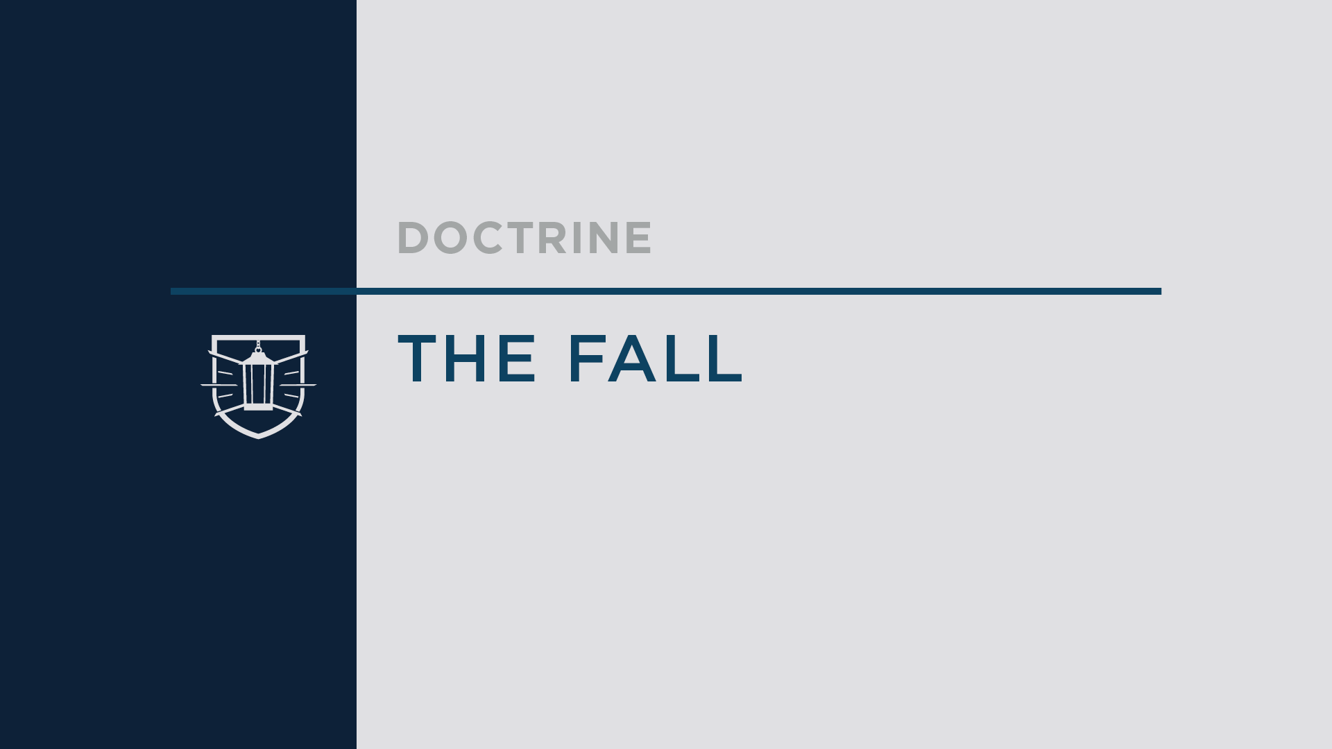 Doctrine 5: The Fall