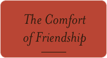 The Comfort of Friendship
