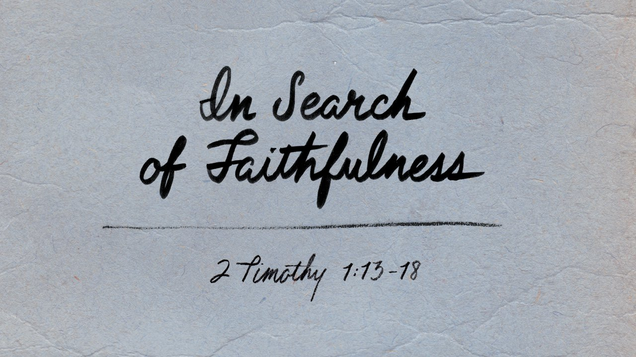 In Search of Faithfulness
