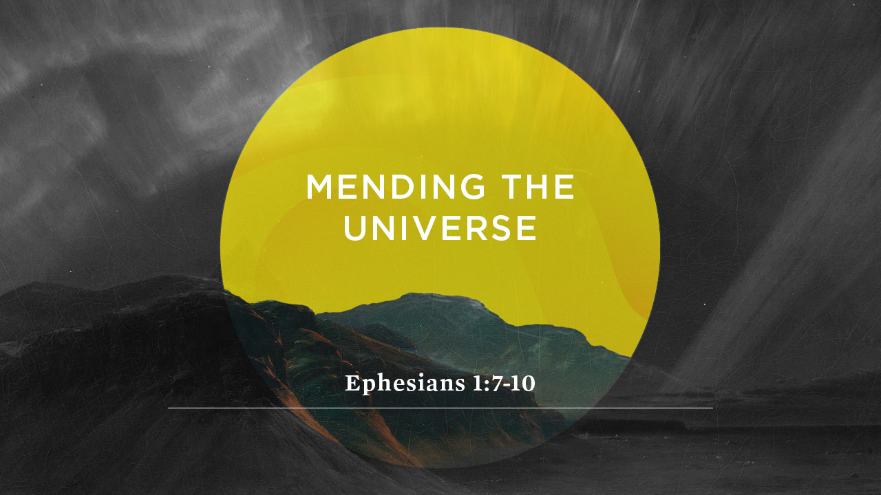Mending the Universe