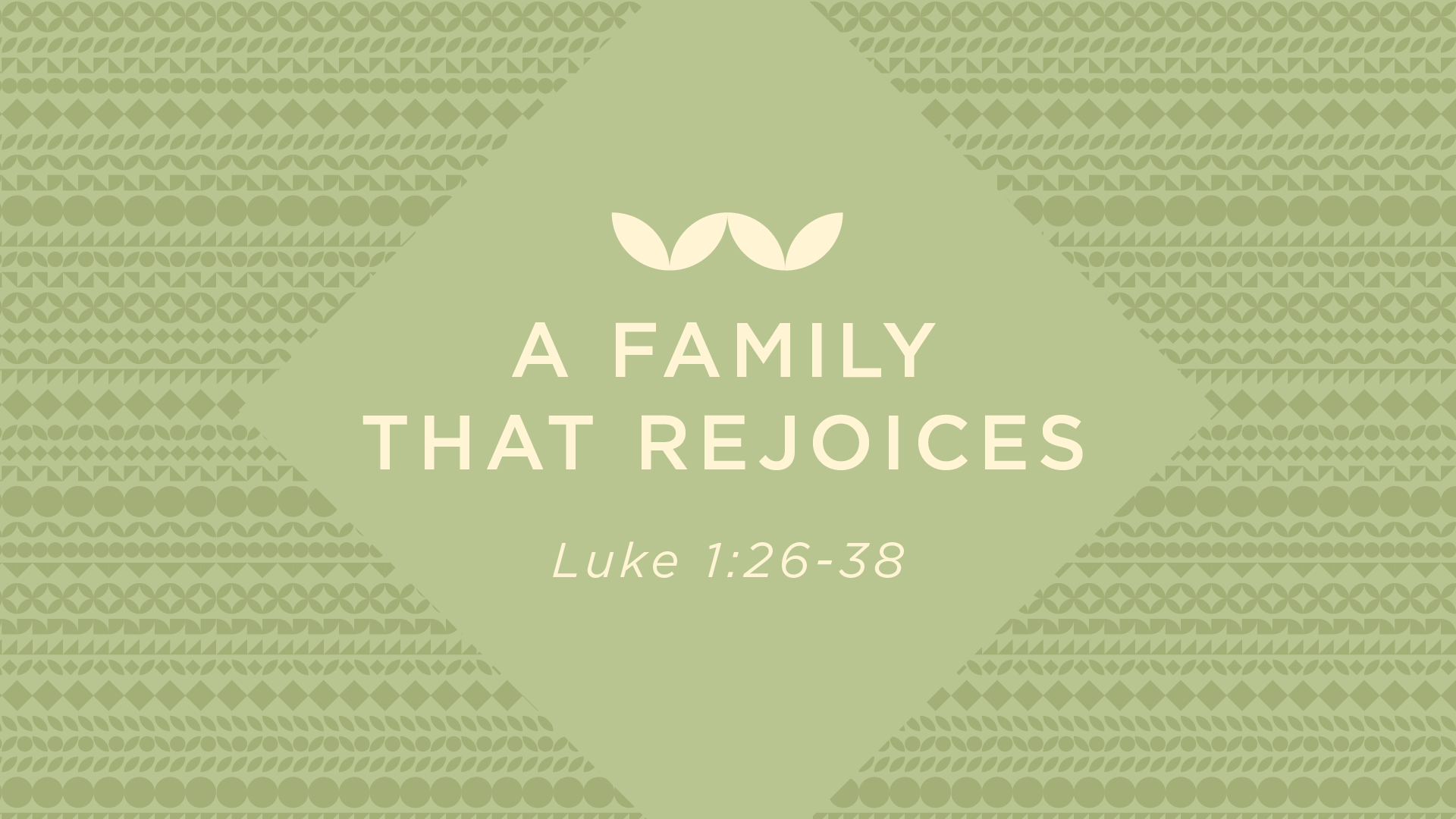 A Family That Rejoices