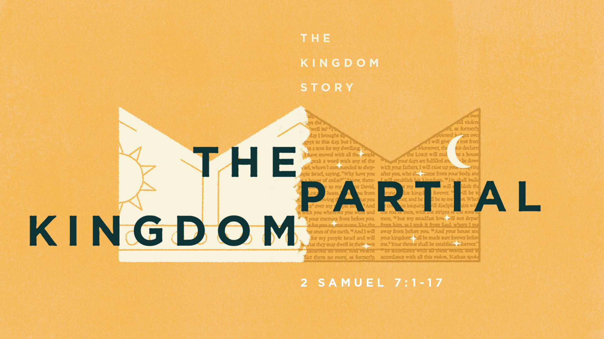 The Partial Kingdom