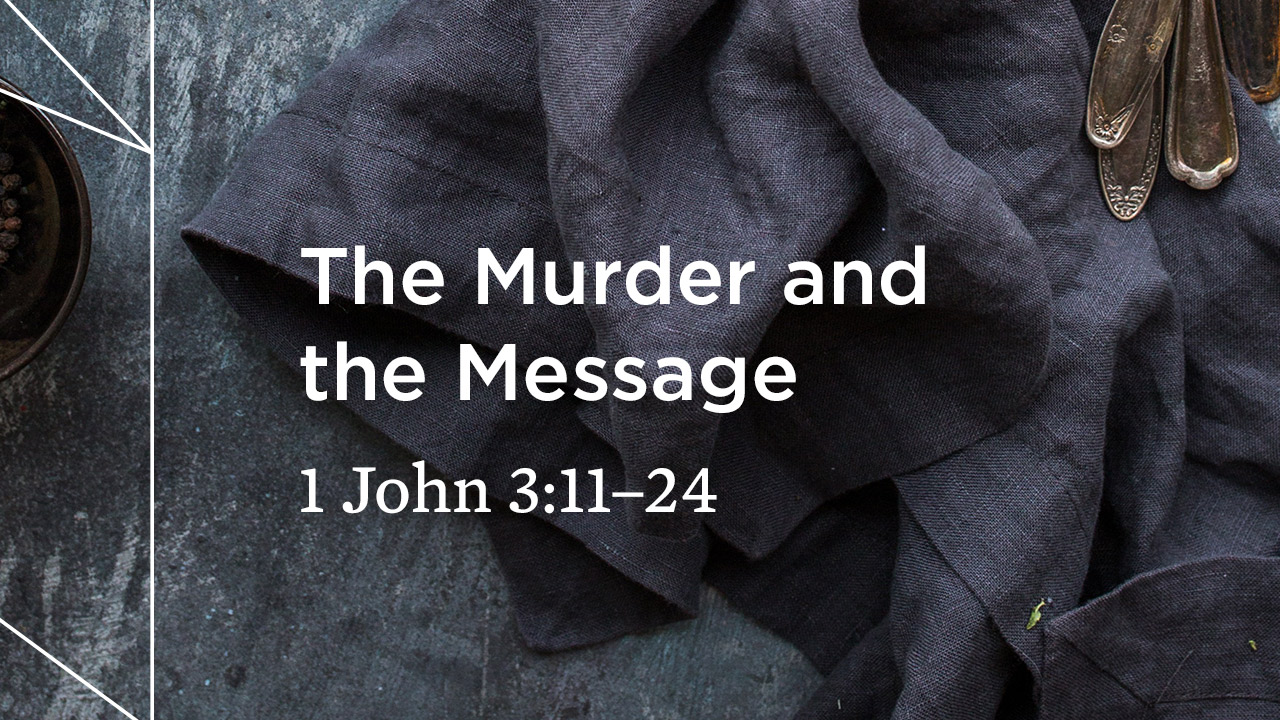 The Murder and the Message