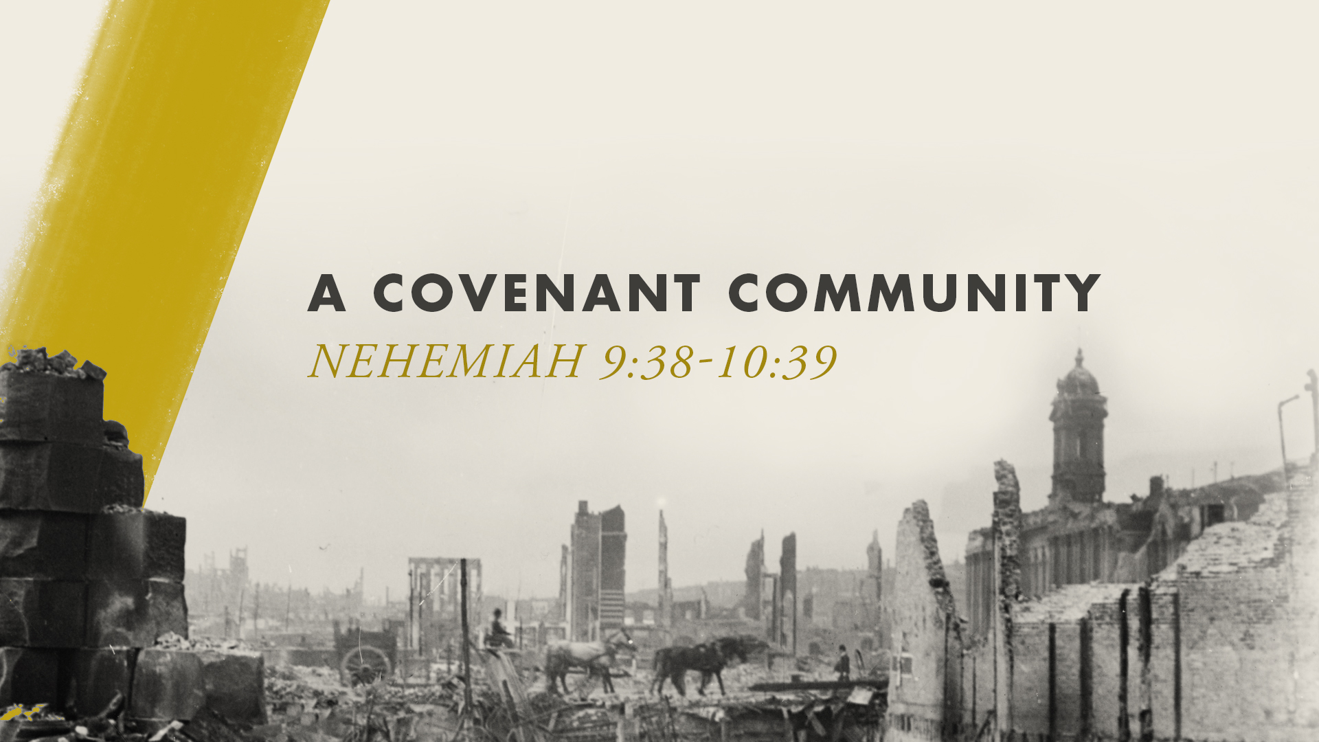 A Covenant Community