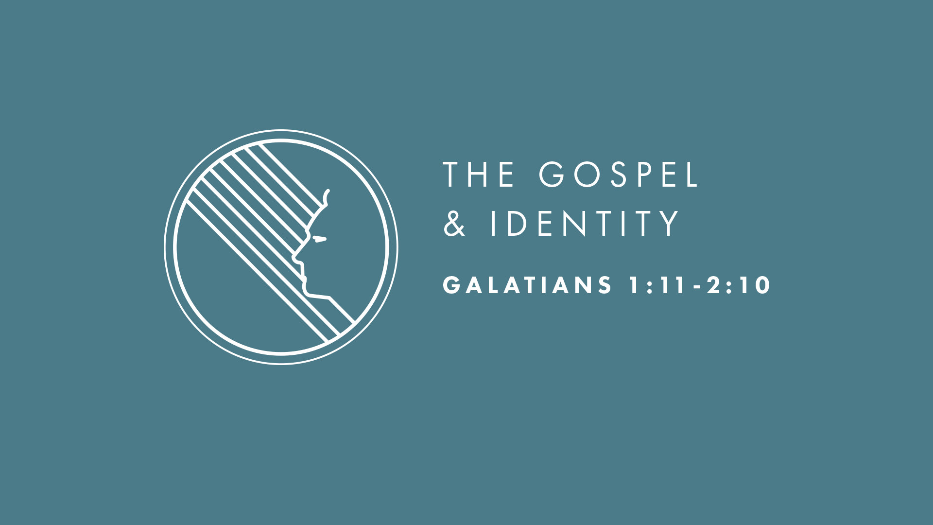 The Gospel and Identity