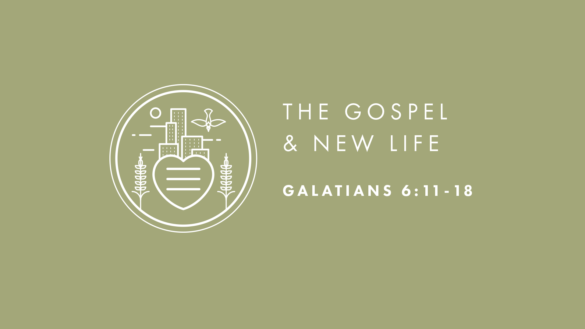 The Gospel and New Life