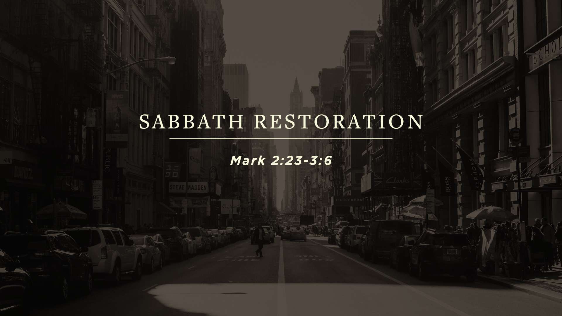 Sabbath Restoration