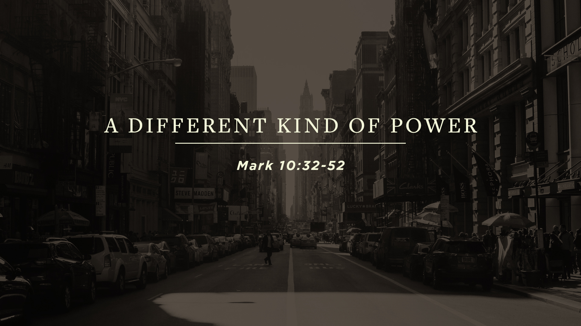 SERMON | A Different Kind of Power