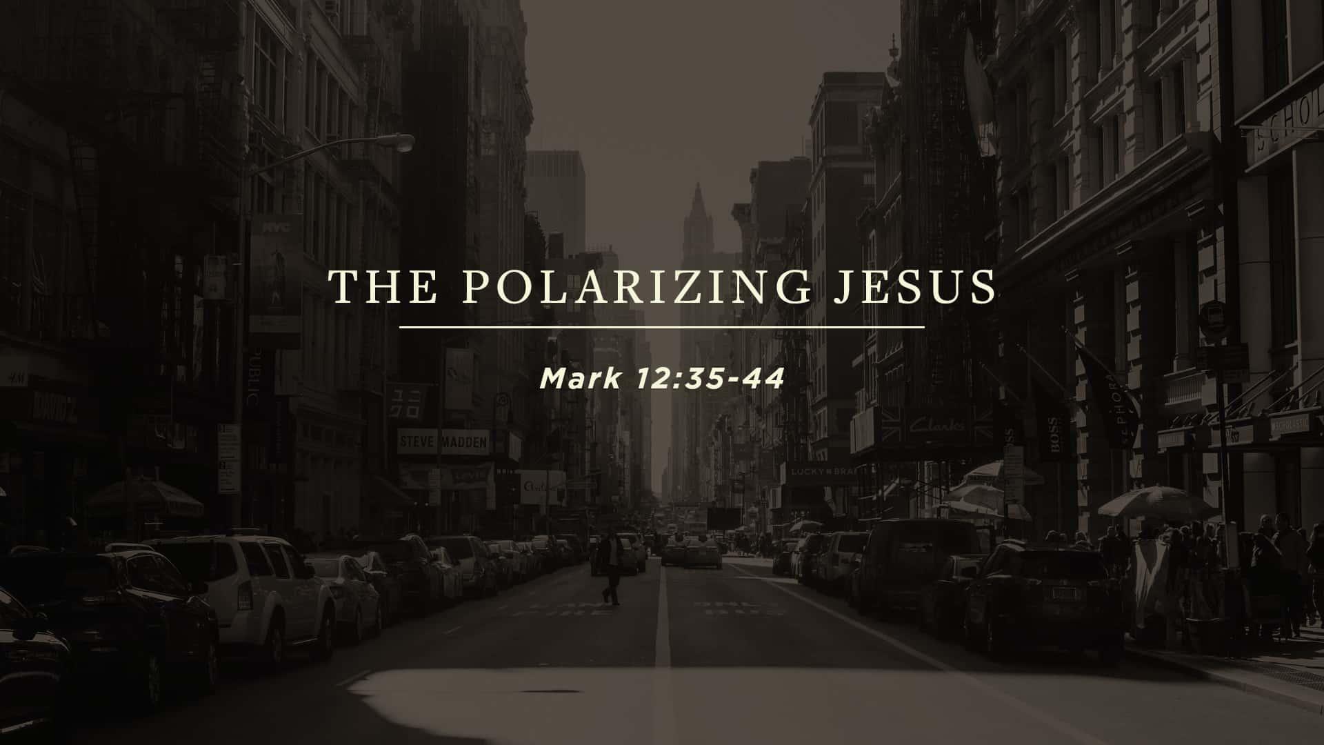 The Polarizing Jesus