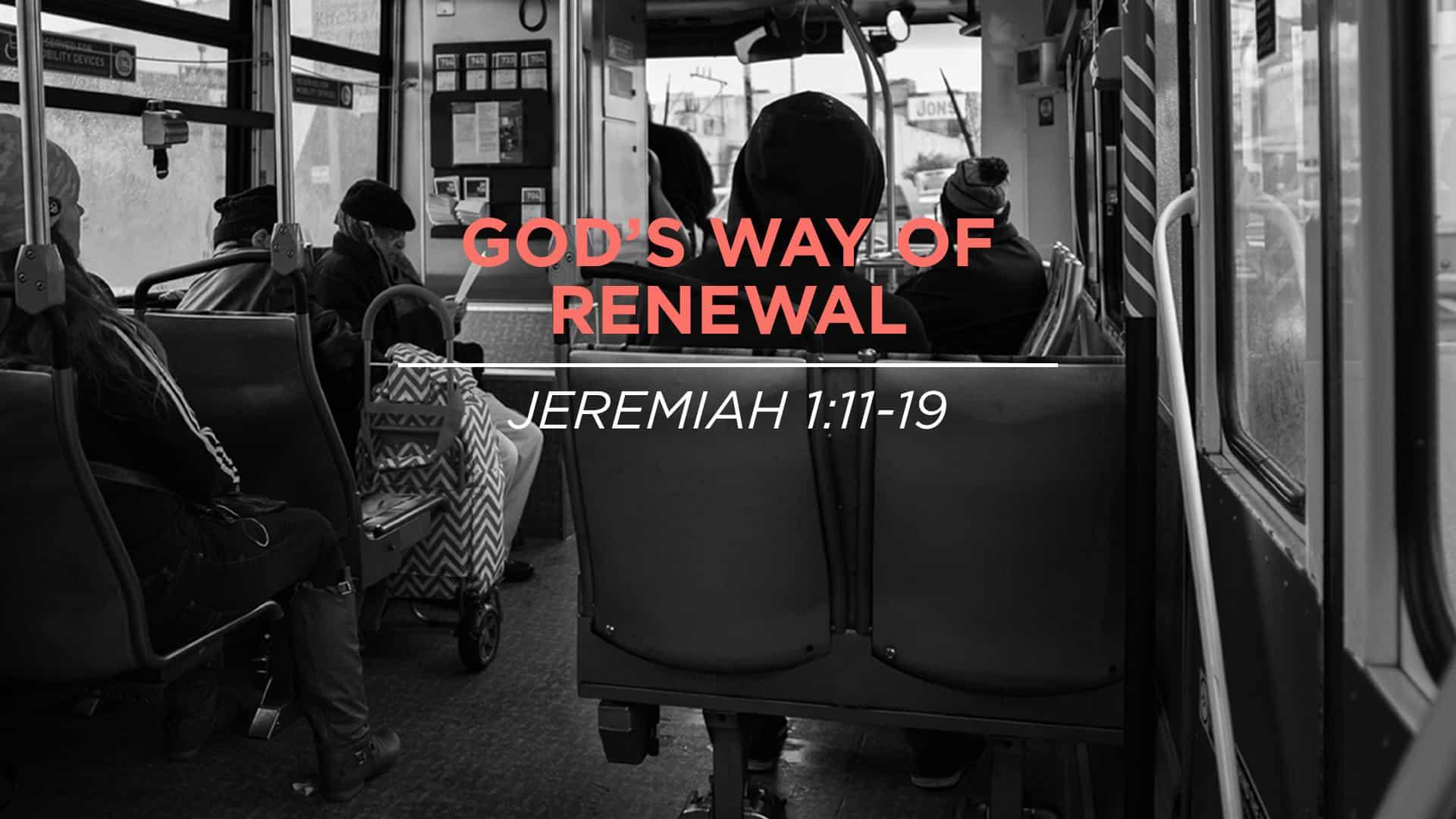 God's Way of Renewal