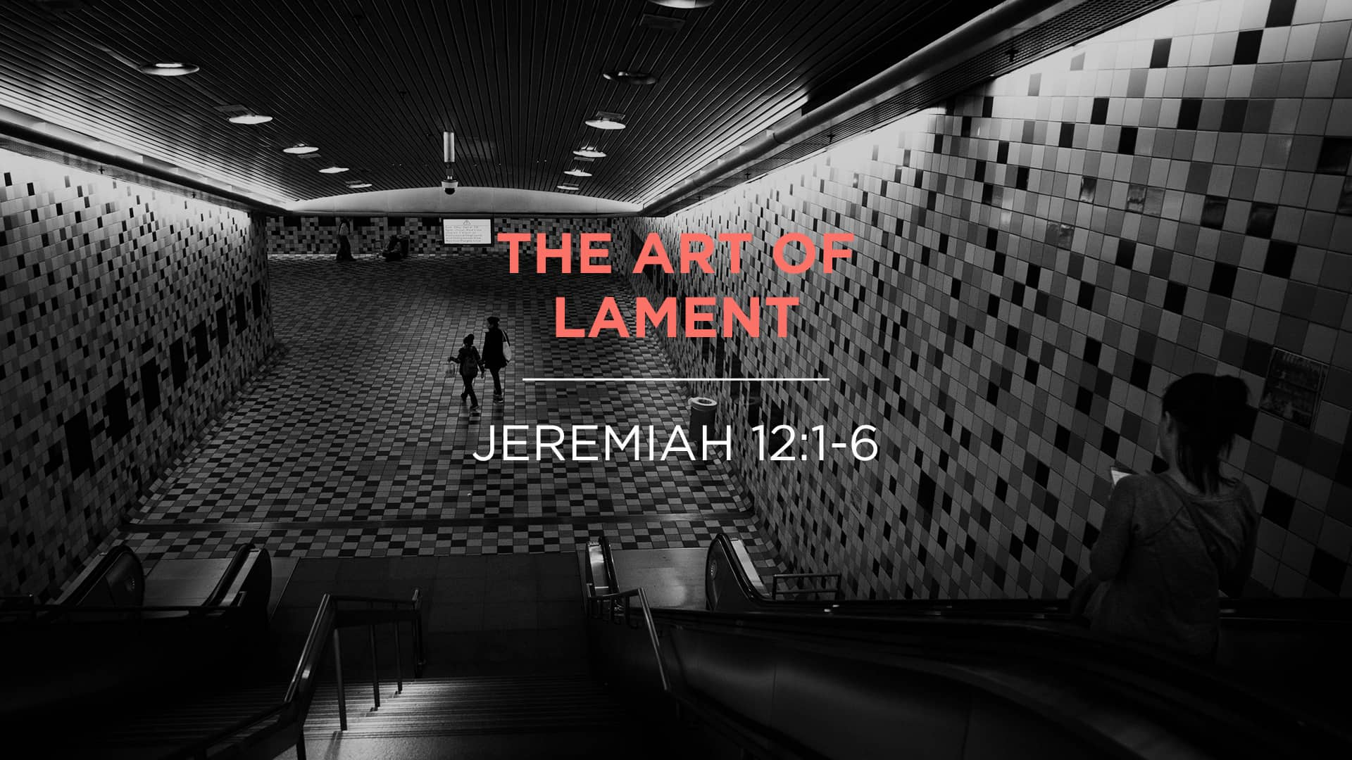 The Art of Lament
