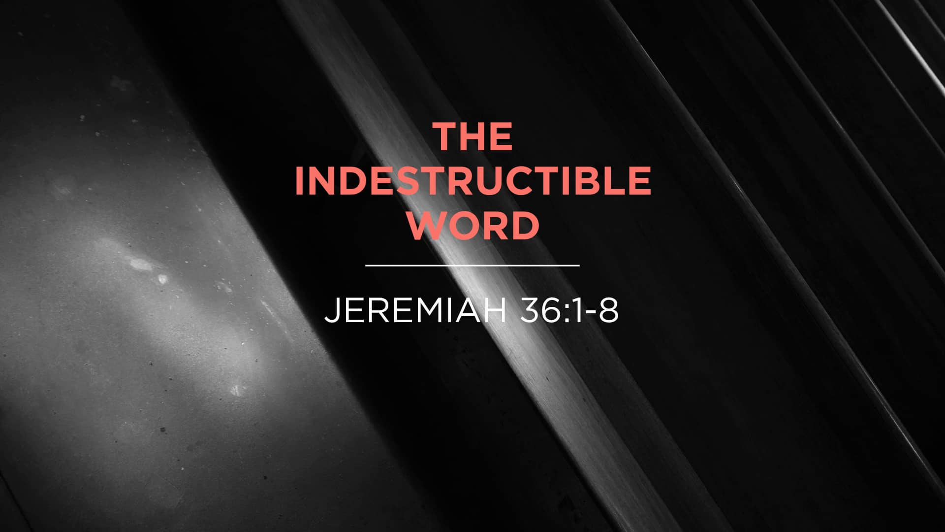 The Indestructible Word