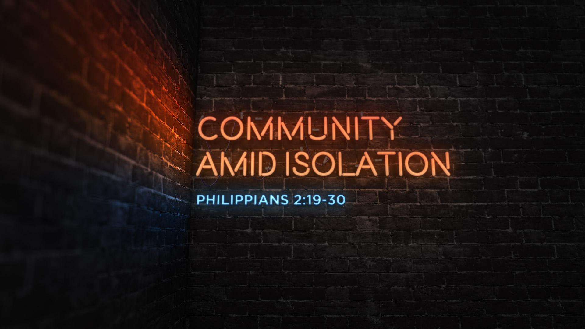Community Amid Isolation