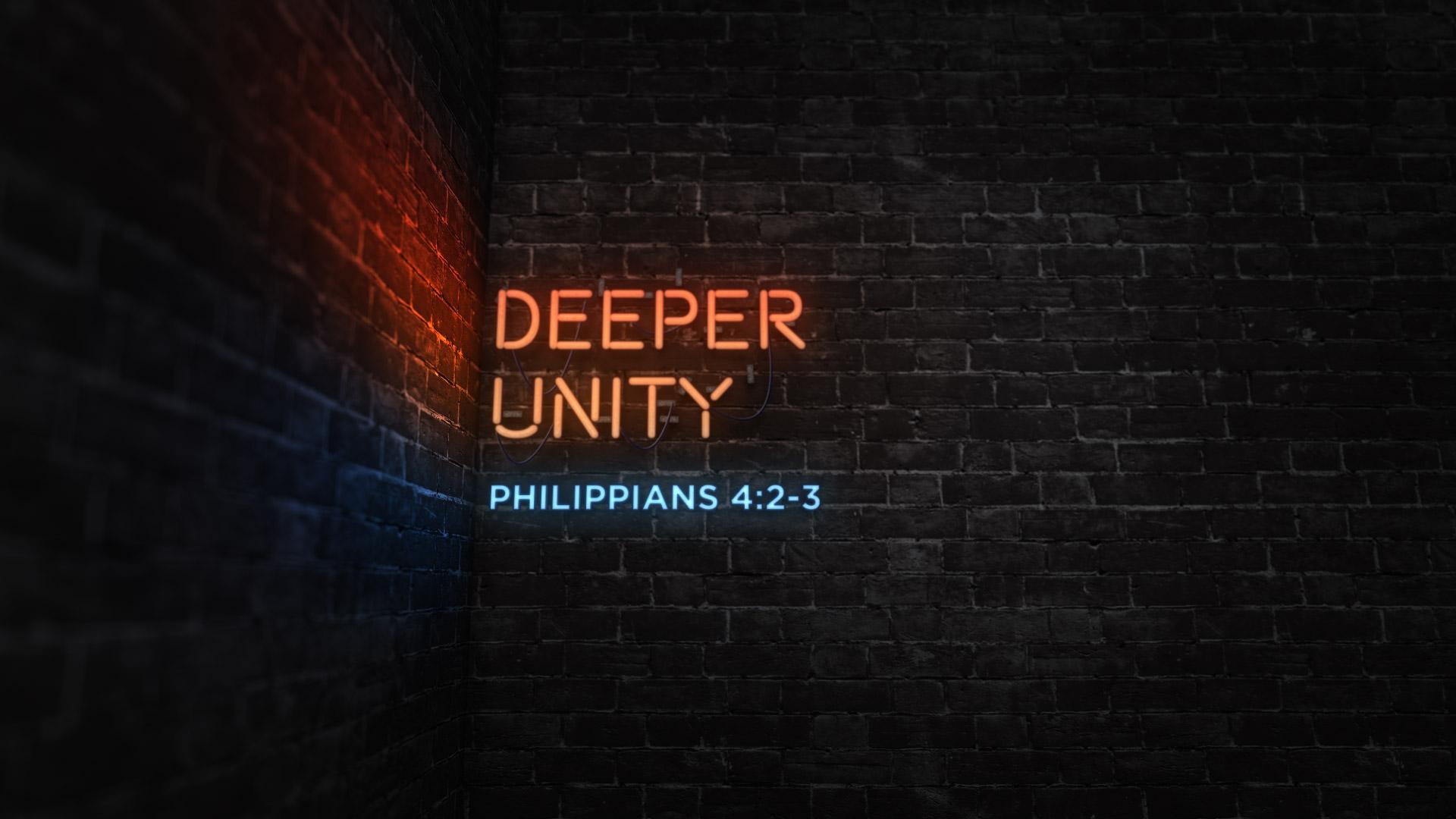 Deeper Unity