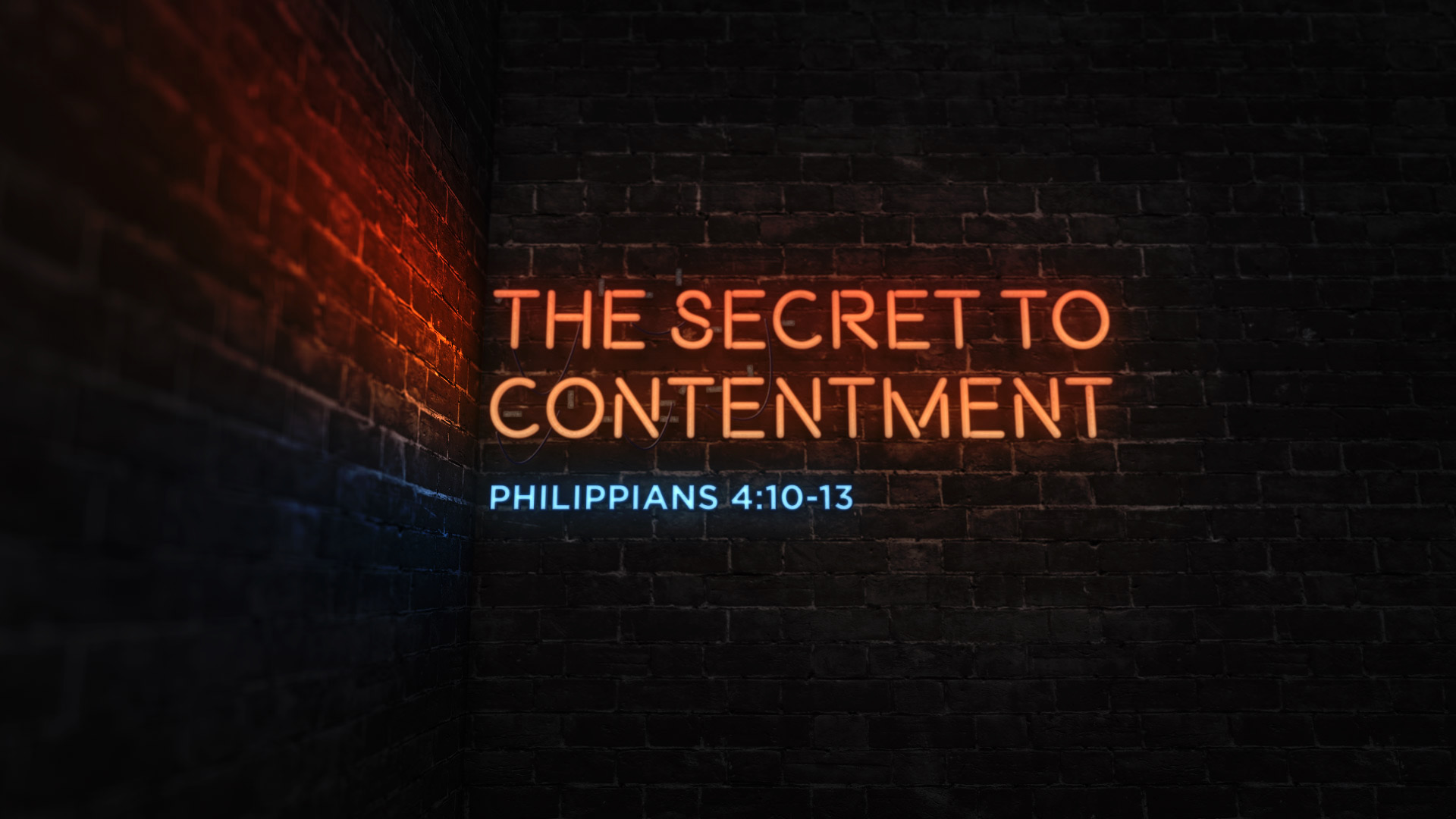 The Secret to Contentment