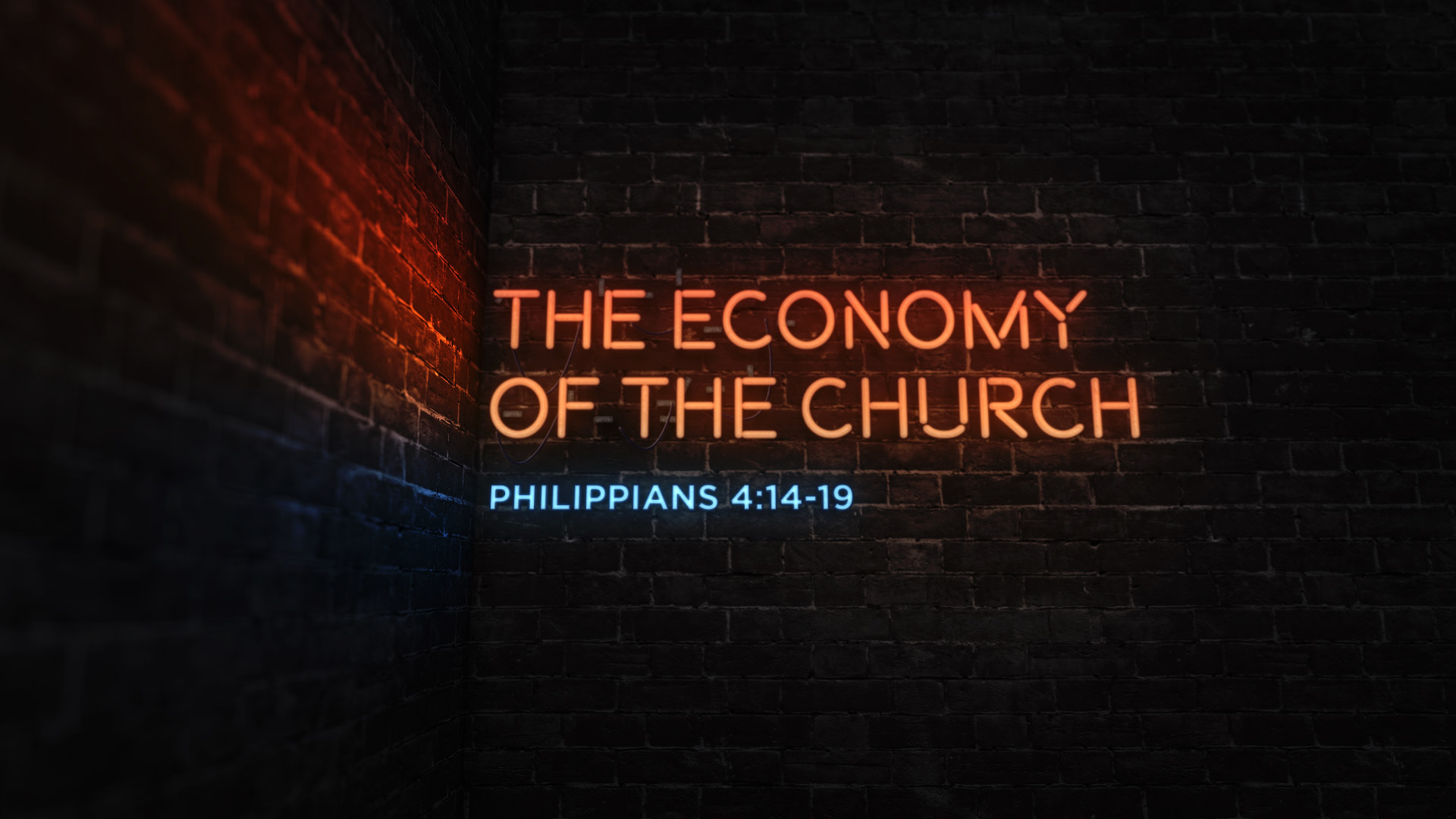 The Economy of the Church