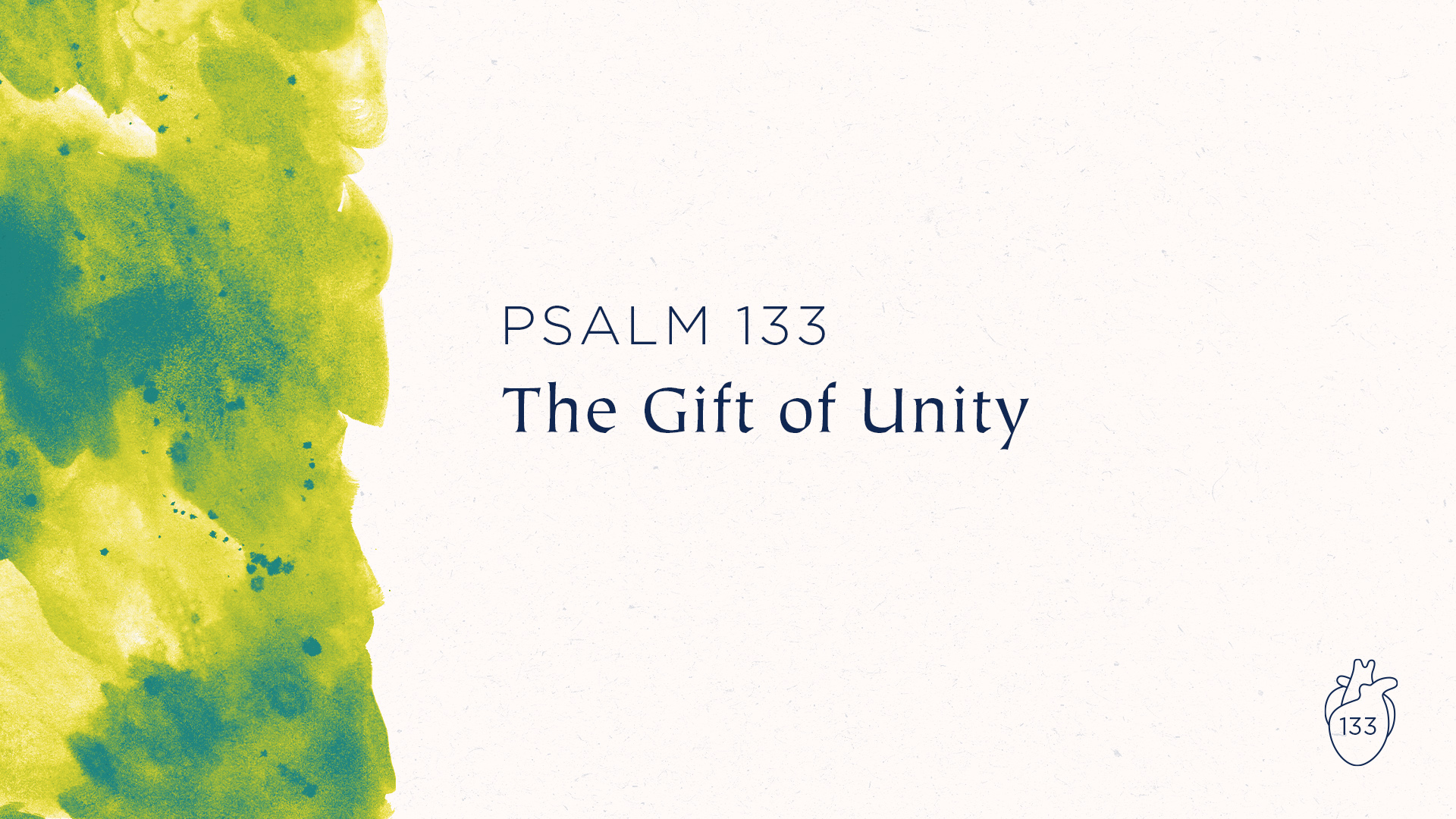 The Gift of Unity