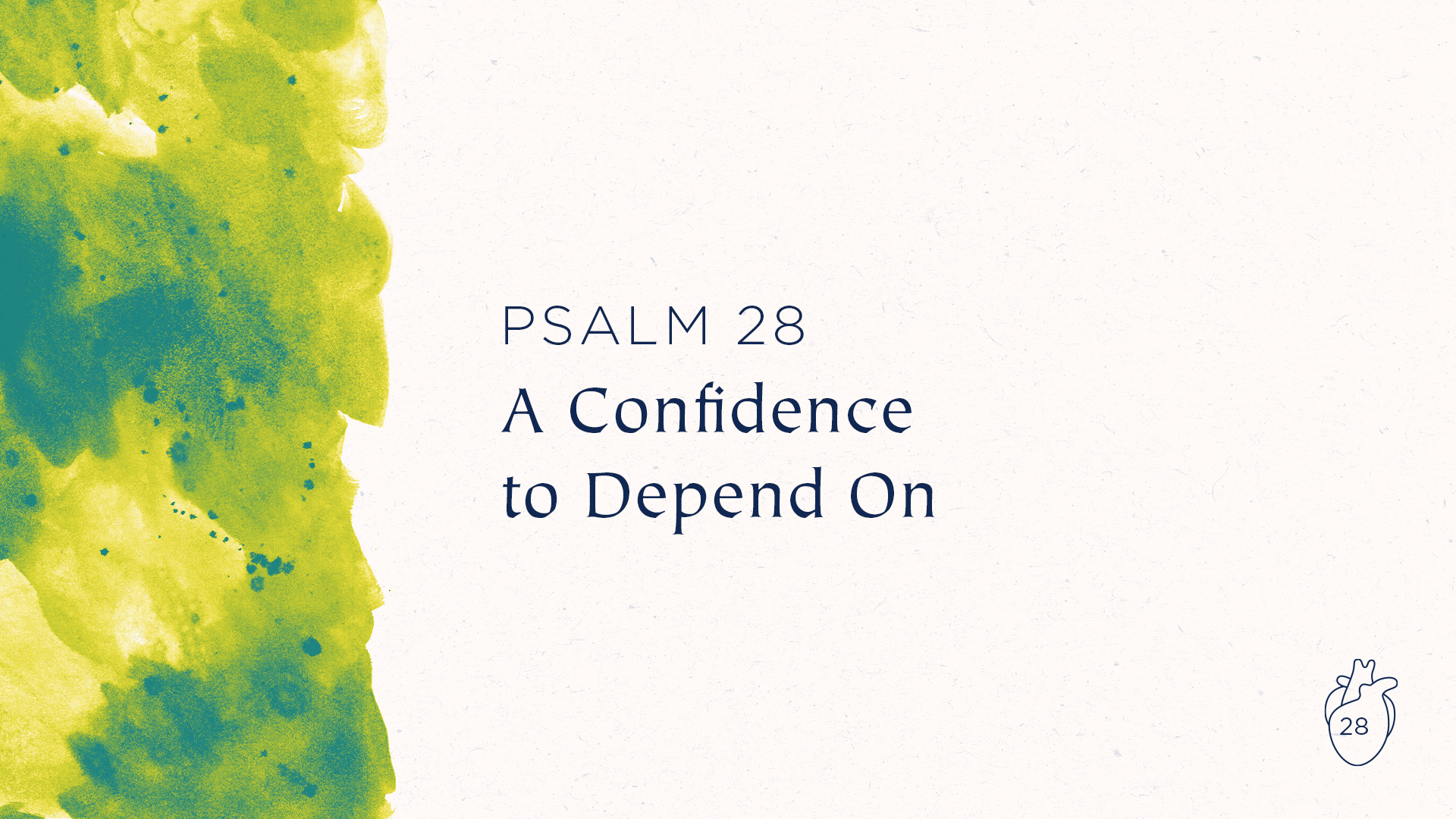 A Confidence to Depend On