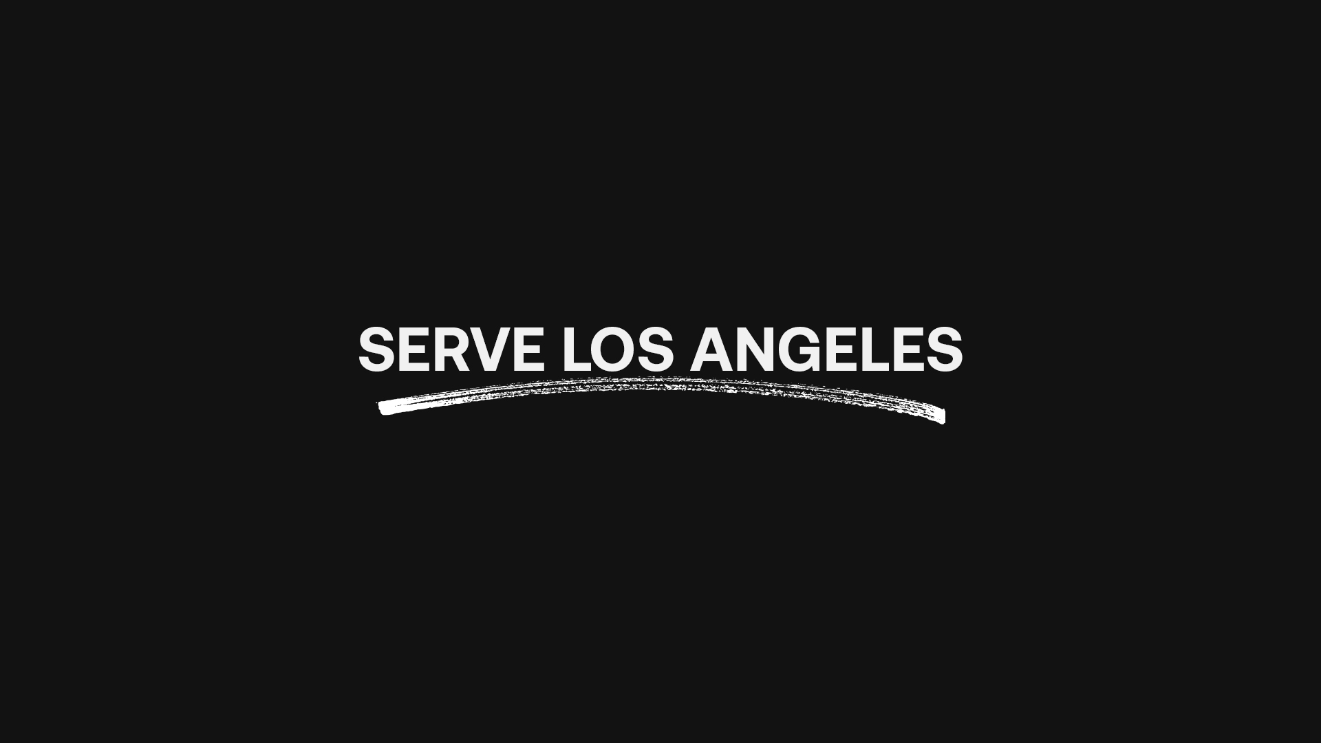 Serve Los Angeles