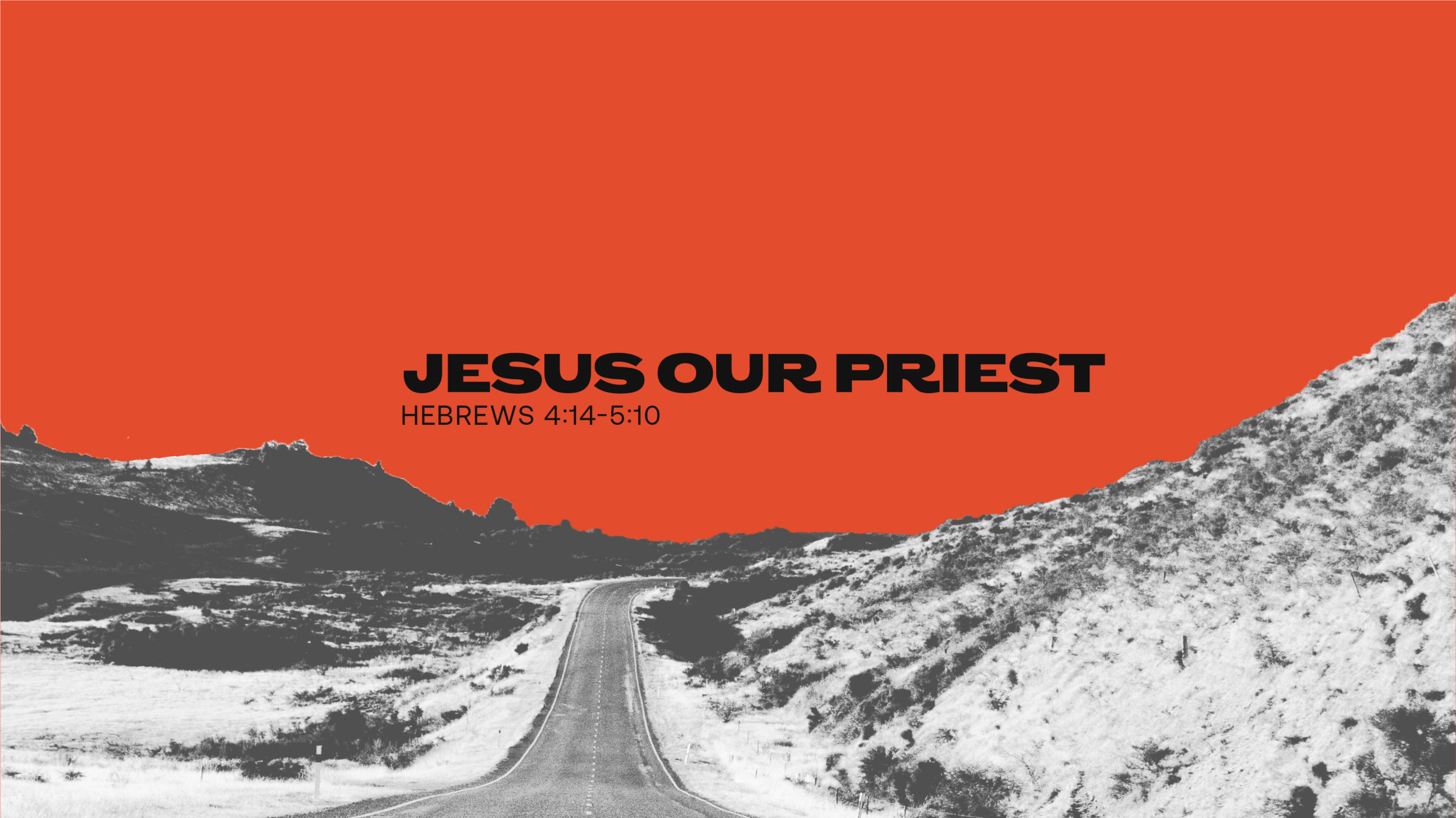 Jesus Our Priest