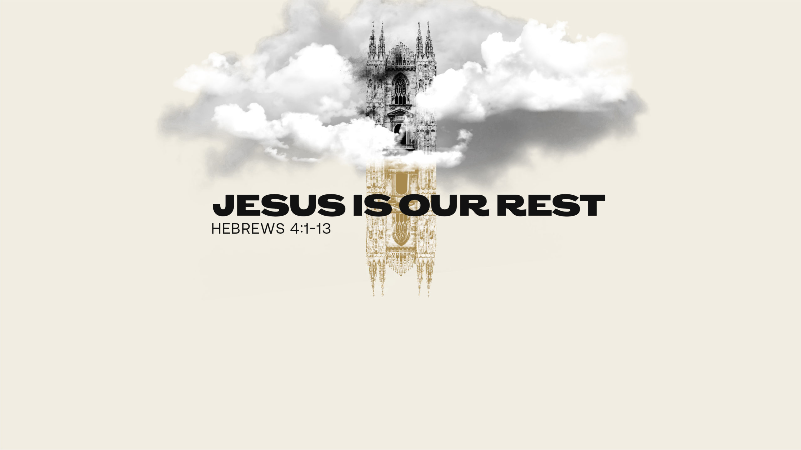 Jesus Is Our Rest
