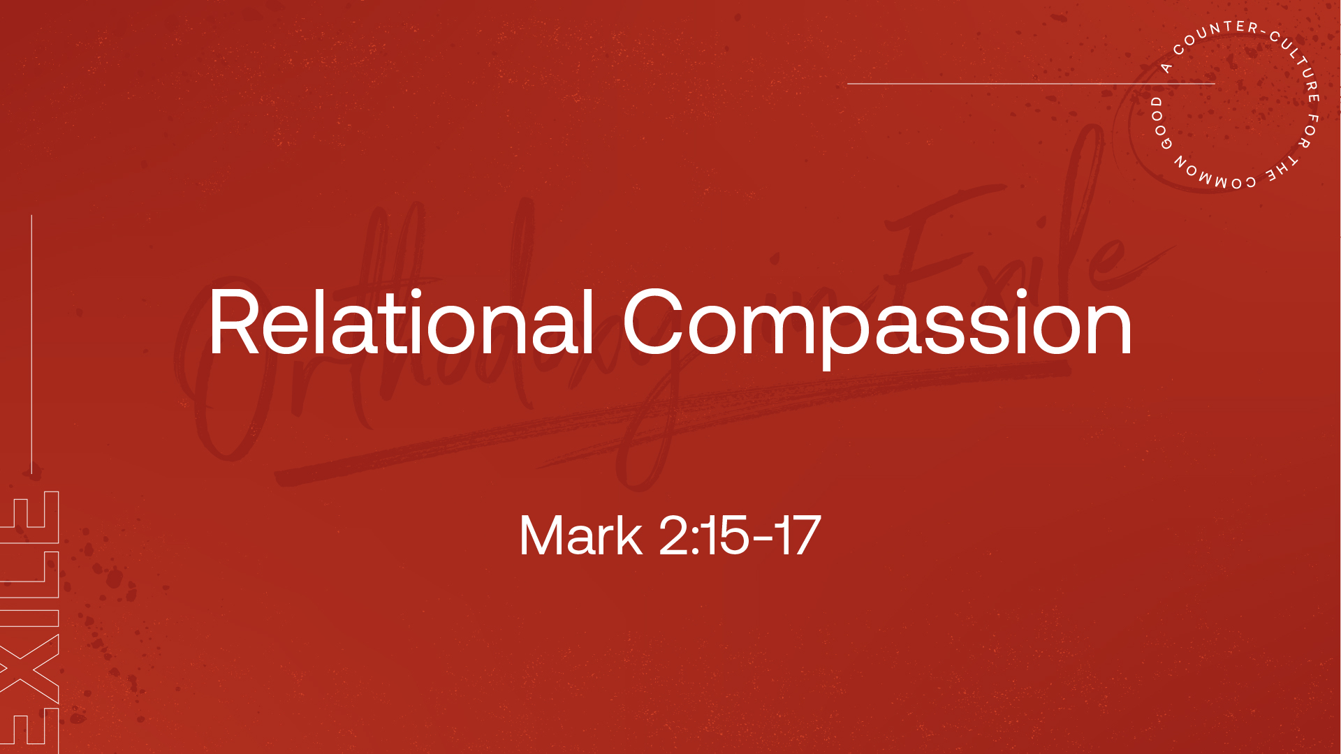 Relational Compassion